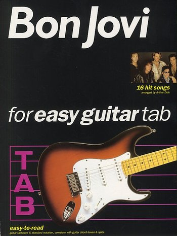 Bon Jovi For Easy Guitar Tab (Partition)