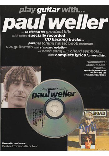 Play Guitar With... Paul Weller (Partition+CD)