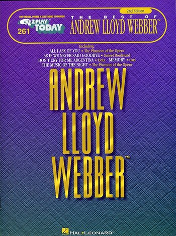 The Best Of Andrew Lloyd Webber E-Z Play Today 261