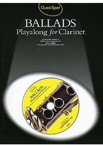 Guest Spot Ballads : Playalong For Clarinet