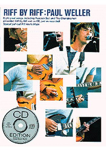 Paul Weller:Riff By Riff (Partition+CD)