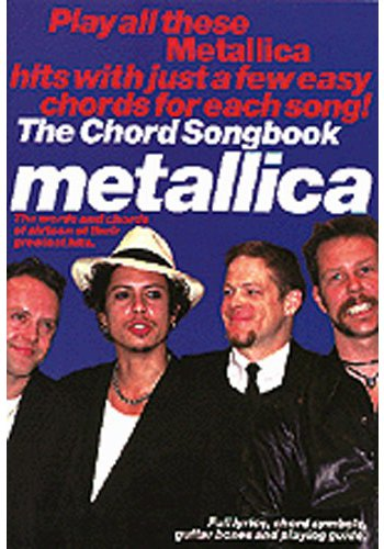 Metallica:Chord Songbook (Partition)