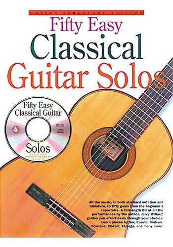 Fifty Easy Classical Guitar Solos (Partition+CD)