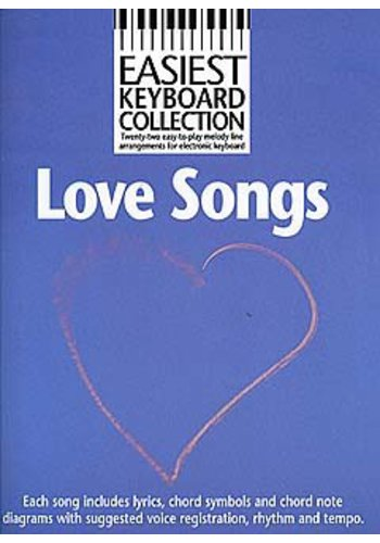 Easiest Keyboard Collection : Love Songs