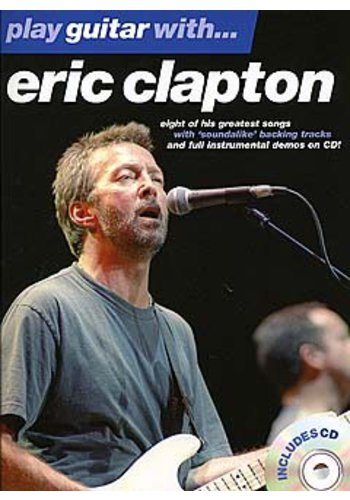 Play Guitar With... Eric Clapton (Partition+CD)