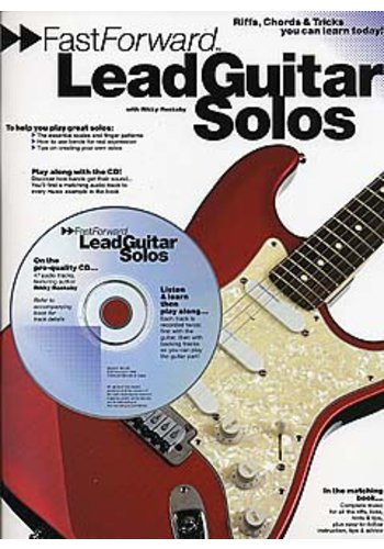Fast Forward Lead Guitar Solos (Partition+CD)