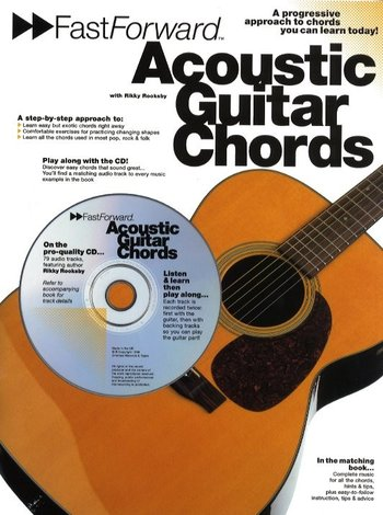 Fast Forward Acoustic Guitar Chords (Partition+CD)
