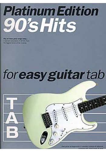 90s Hits For Easy Guitar Tab : Platinum Edition (Partition)
