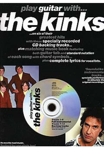 Play Guitar With... The Kinks (Partition+CD)