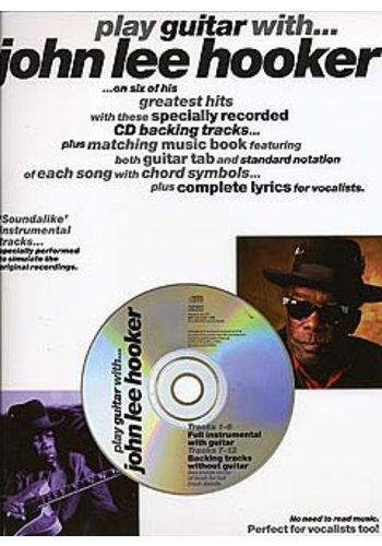 Play Guitar With... John Lee Hooker (Partition+CD)