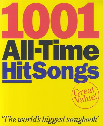 1001 All Time Hit Songs Book 3