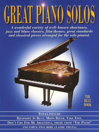 Great Piano Solos : Blue Book