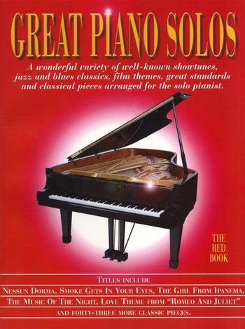 Great Piano Solos : Red Book