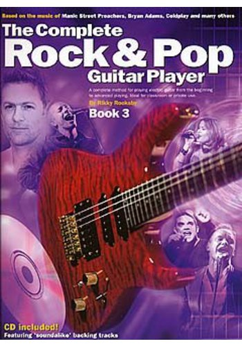 The Complete Rock And Pop Guitar Player: Book 3 (Revised Edition) (Partition)
