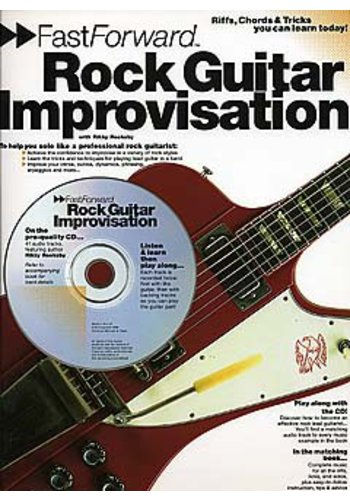 Fast Forward Rock Guitar Improvisation (Partition+CD)