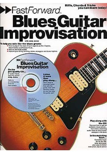 Fast Forward Blues Guitar : Improvisation (Partition+CD)