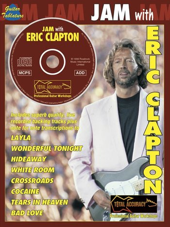 Jam With Eric Clapton (Partition+CD)