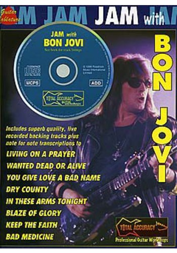 Jam With... Bon Jovi (Partition+CD)