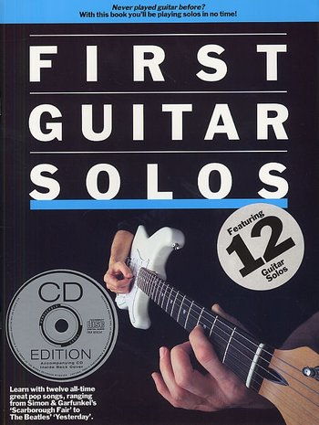First Guitar Solos (Partition+CD)