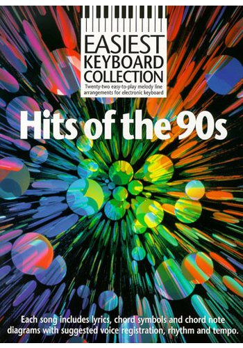 Easiest Keyboard Collection: Hits Of The 90s