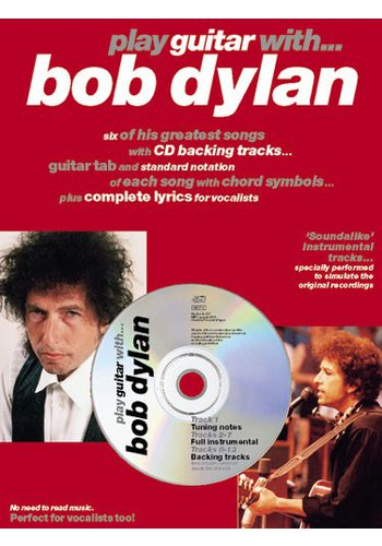 Play Guitar With… Bob Dylan (Partition+CD)