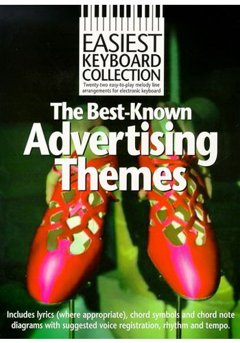 Easiest Keyboard Collection : The Best TV Advertising Themes