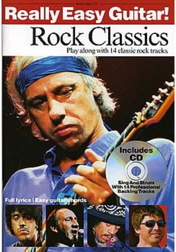 Really Easy Guitar ! Rock Classics (Partition+CD)