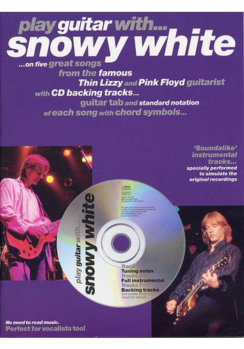 Play Guitar With… Snowy White (Partition+CD)