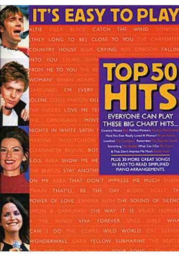 It's Easy To Play Top 50 Hits Book 4