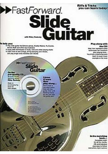 Fast Forward : Slide Guitar (Partition+CD)