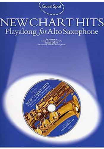 Guest Spot : New Chart Titles Playalong for Alto Saxophone
