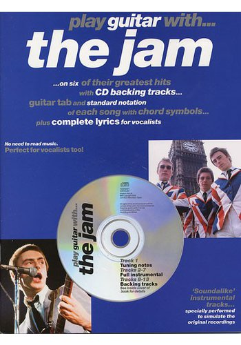Play Guitar With… The Jam (Partition+CD)