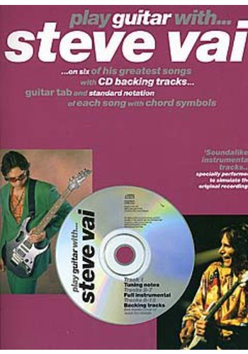 Play Guitar With… Steve Vai (Partition+CD)