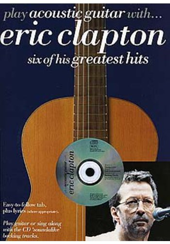Play Acoustic Guitar With... Eric Clapton (Partition+CD)