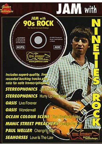 Jam With...Nineties Rock (Partition+CD)