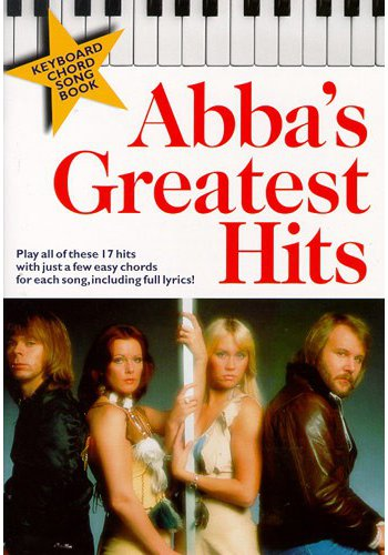 Abba's Greatest Hits Keyboard Chord Songbook