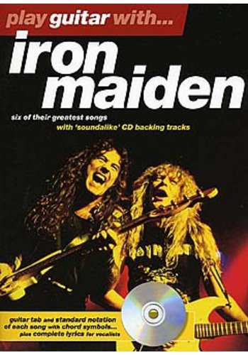 Play Guitare With … Irone Maiden (Partition+CD)