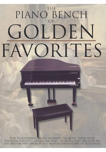 Piano Bench Of Golden Favourites