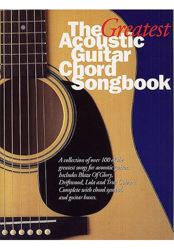 The Greatest Acoustic Guitar Chord Songbook