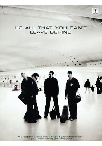 U2: All That You Can't Leave Behind (Partition)