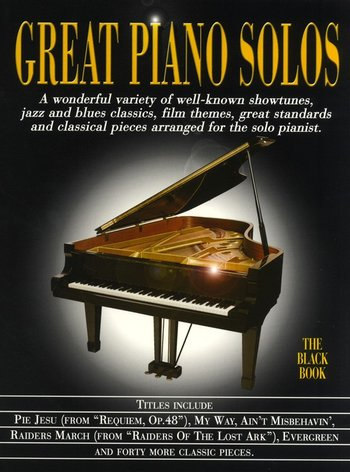 Great Piano Solos : Black Book