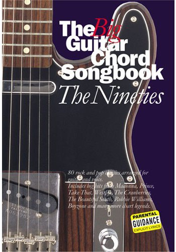The Big Guitar Chord Songbook: The Nineties
