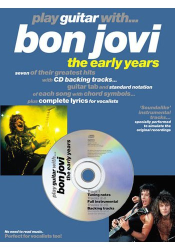 Play Guitar With...Bon Jovi (The Early Years) (Partition+CD)