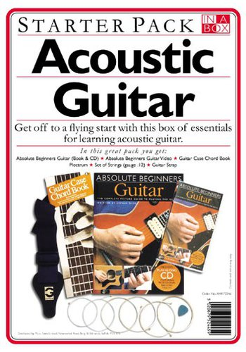 In a Box Starter Pack Acoustic Guitar (Accessoire)