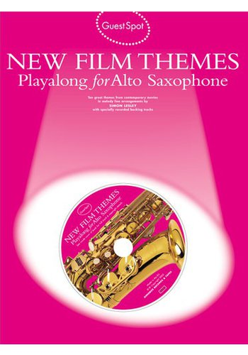 Guest Spot : New Film Themes Playalong for Saxophone