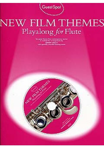 Guest Spot : New Film Themes Playalong for Flute