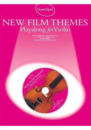 Guest Spot: New Film Themes Playalong for Violin
