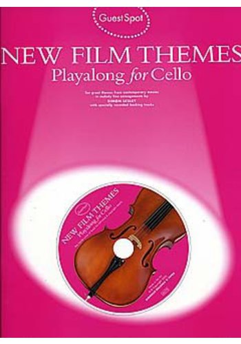 Guest Spot : New Film Themes Playalong For Cello