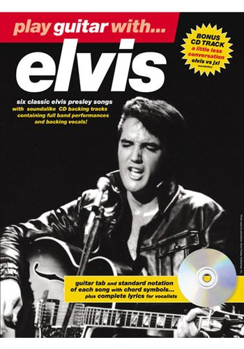 Play Guitar With... Elvis (Partition+CD)