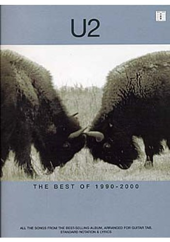 U2 : The Best Of 1990-2000 (Partition)